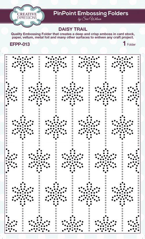 Creative Expressions Pin Point Embossing Folders