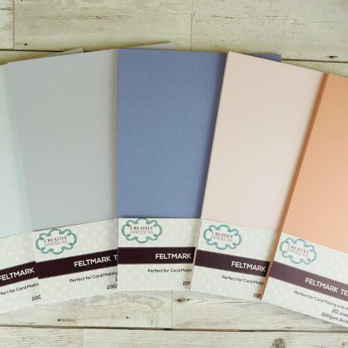 Textured Linen Card