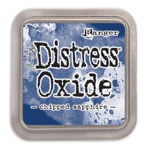 Tim Holtz Distress Oxide Pad Chipped Sapphire