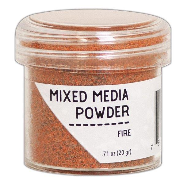 Ranger Mixed Media Powders Fire