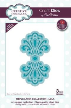 sue wilson craft die triple layer lola