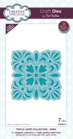 sue wilson craft die triple layer anna
