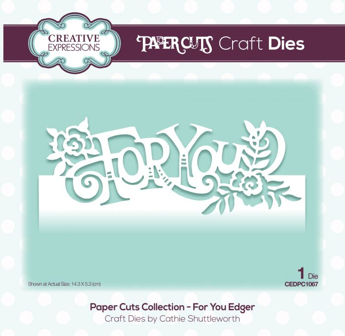 papercuts craft die for you edger