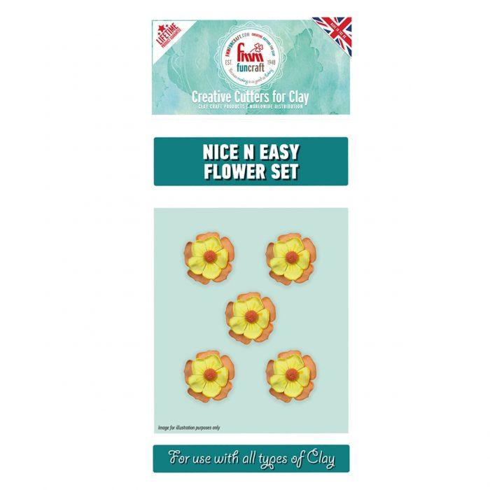fmm nice n easy flower cutters set