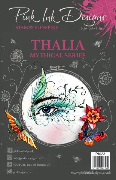 pink ink designs a5 stamp thalia (mythical series)