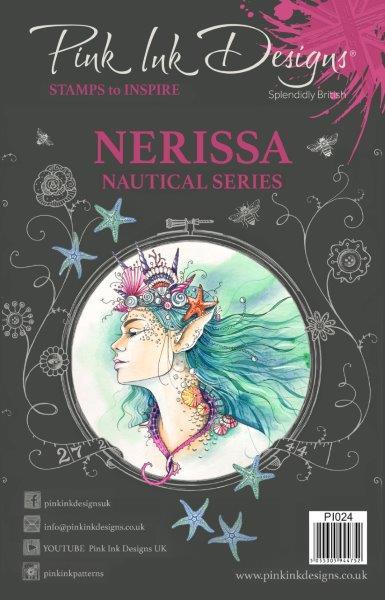 pink ink designs a5 stamp nerissa (nautical series)
