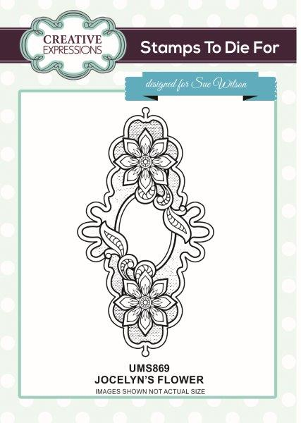 sue wilson stamps to die for jocelyns flower