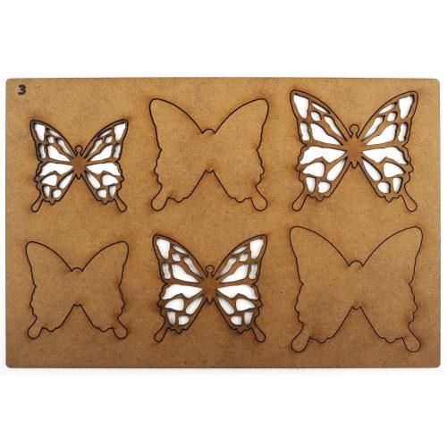 Creative Expressions Art-Effex Layered Butterflies