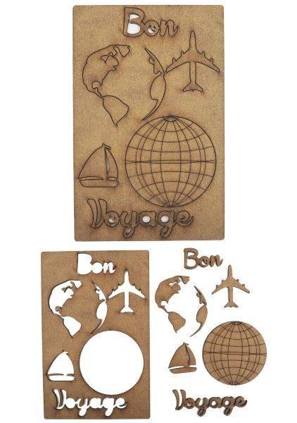 Creative Expressions Art-Effex Bon Voyage