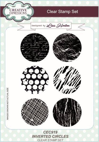 lisa horton a5 stamp set inverted circles