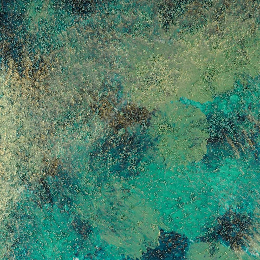 cosmic shimmer kaleidoscope paint jade garden swatch