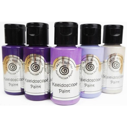 cosmic shimmer kaleidoscope paint purple passion