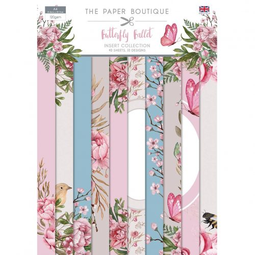 Paper Boutique Butterfly Ballet Insert Collection