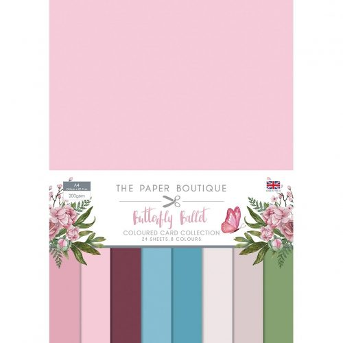 Paper Boutique Butterfly Ballet Colour Card Collection