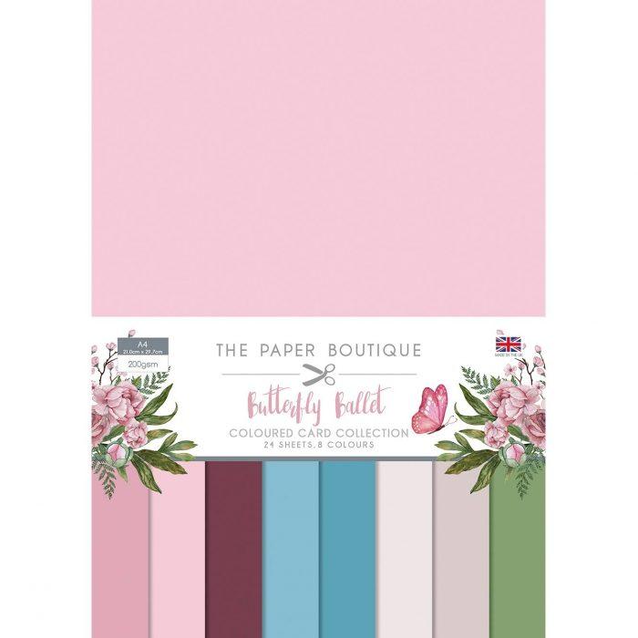 Paper Boutique Butterfly Ballet Colour Card Collection