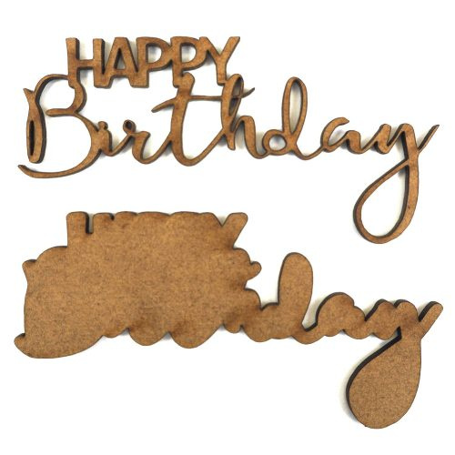 Creative Expressions Art-Effex Happy Birthday