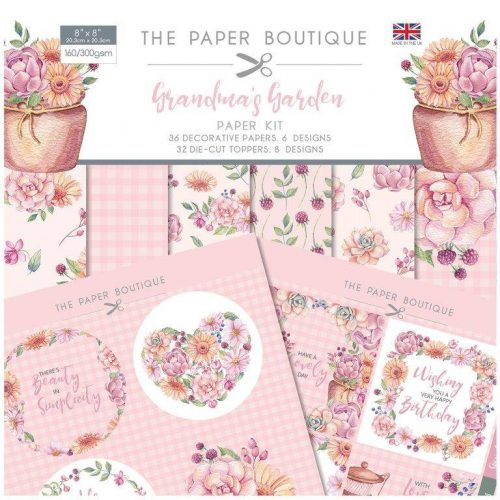 Paper Boutique - Grandma's Garden