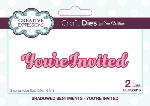 Mini Shadowed Sentiments Collection