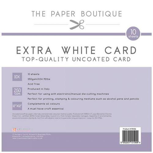 Paper Boutique - Plain Card Basics