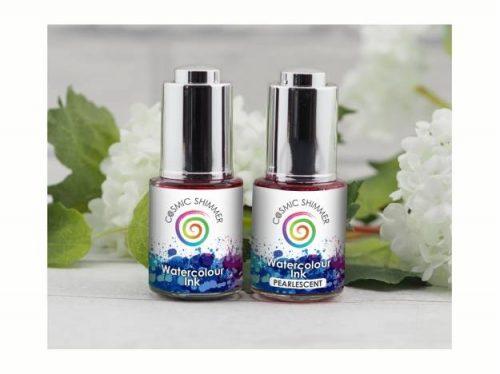 Cosmic Shimmer Watercolour Inks