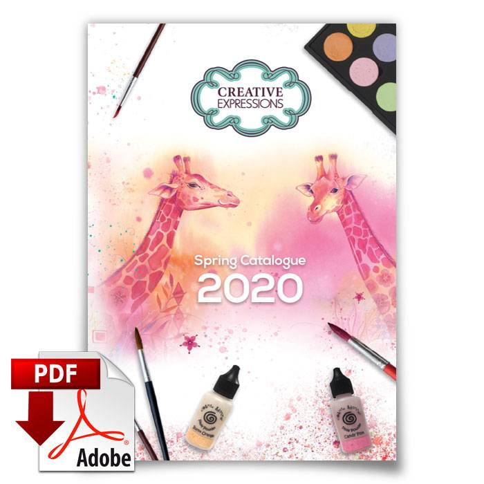 creative expressions spring catalogue 2020