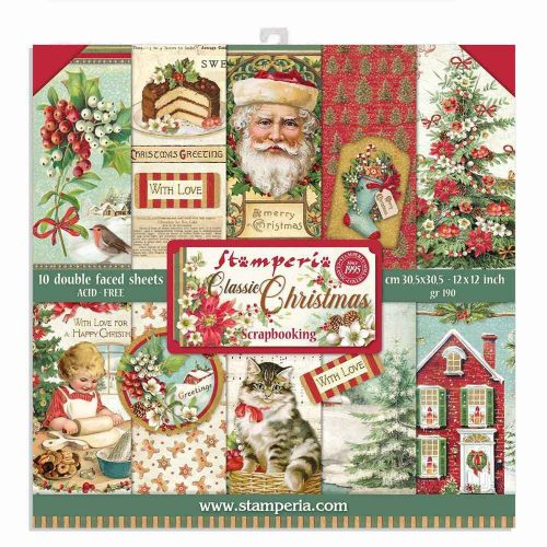 Stamperia Festive Collections