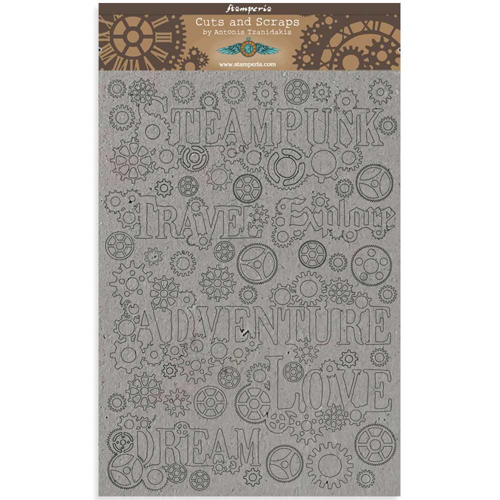 Stamperia Cityscape Sir Vagabond S PRE-ORDER A4 Rice Paper Sheet DFSA4514